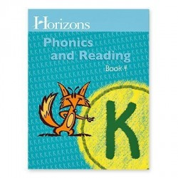 Horizons Kindergarten Phonics & Reading Student Book 4 - Product Image
