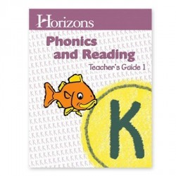Horizons Kindergarten Phonics & Reading Teacher's Guide 1 - Product Image