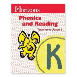 Horizons Kindergarten Phonics & Reading Teacher's Guide 3 - Product Image