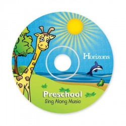 Horizons Preschool Sing Along Music CD - Product Image