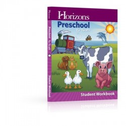 Horizons Preschool for Three's Student Workbook - Product Image