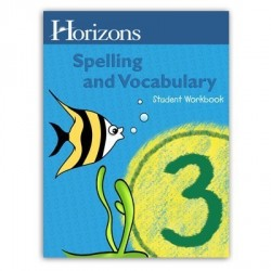 Horizons 3rd Grade Spelling & Vocabulary Student Book - Product Image