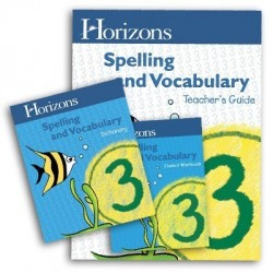 Horizons Third Grade Spelling & Vocabulary Set - Product Image