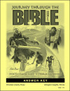 Journey Through the Bible: Book 1- Pentateuch and Historical Books - Answer Key