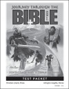 Journey Through the Bible: Book 1- Pentateuch and Historical Books - Test Packet