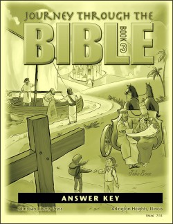Journey Through the Bible: Book 3 - New Testament - Answer Key - Product Image