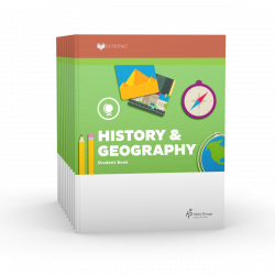 LIFEPAC 2nd Grade History & Geography 10-Unit Set - Product Image