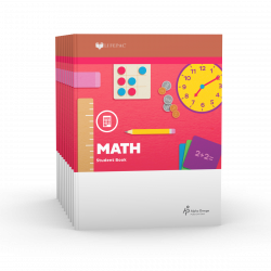 LIFEPAC 2nd Grade Math 10-Unit Set - Product Image