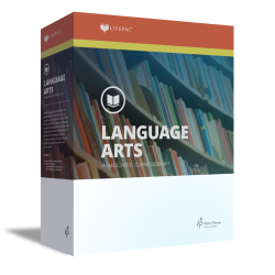 Lifepac 10th Grade Language Arts - English 2 - Product Image