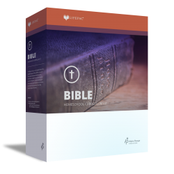 Lifepac 12th Grade Bible - Christian Faith & Living Set - Product Image
