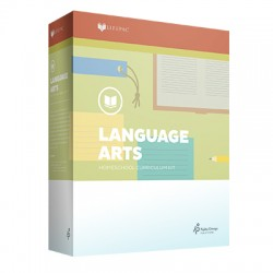 Lifepac 4th grade Language Arts - Product Image