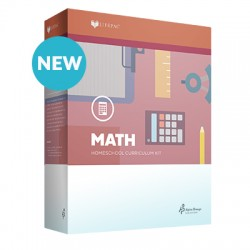 Lifepac 5th Grade Math - Product Image