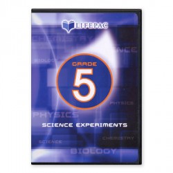 Lifepac 5th Grade Science Experiments DVD - Product Image
