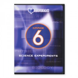 Lifepac 6th Grade Science Experiments DVD - Product Image
