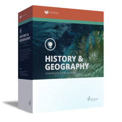 Lifepac 6th grade History & Geography - Product Image