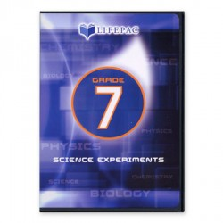 Lifepac 7th Grade Science Experiments DVD - Product Image