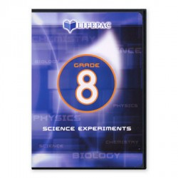 Lifepac 8th Grade Science Experiments DVD - Product Image