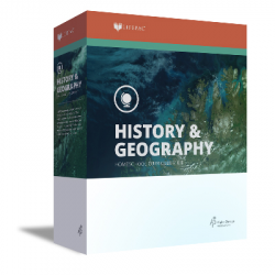 Lifepac 9th Grade History - Civics & World Geography  - Product Image