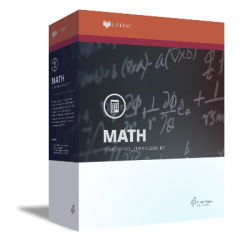 Lifepac 9th Grade Math - Algebra 1 - Product Image