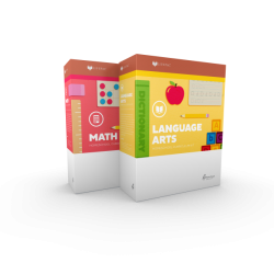 Lifepac Kindergarten 2-subject Set - Product Image