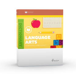 Lifepac Kindergarten Language Arts - Product Image