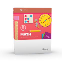Lifepac Kindergarten Math - Product Image