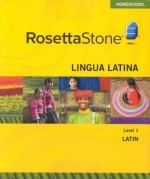 Rosetta Stone Latin Level 1 - Product Image