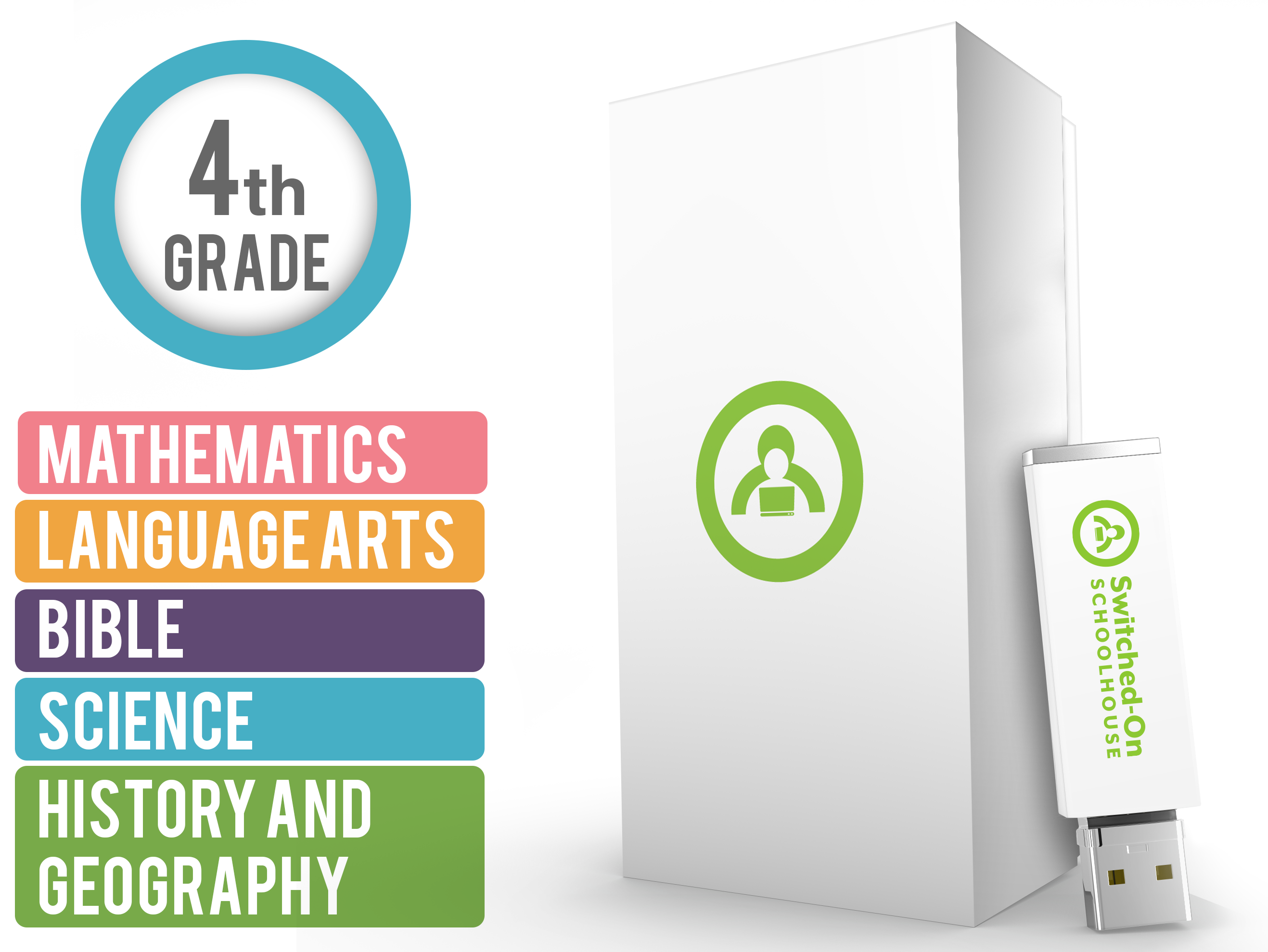 SOS Switched On Schoolhouse Language Arts Grade 5 Latest Edition