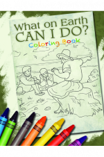 What on Earth Can I Do? Coloring Book - Product Image