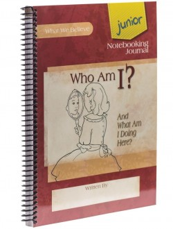 Who Am I? Junior Notebooking Journal - Product Image