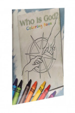 Who Is God? Coloring Book - Product Image