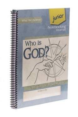 Who Is God? Junior Notebooking Journal - Product Image
