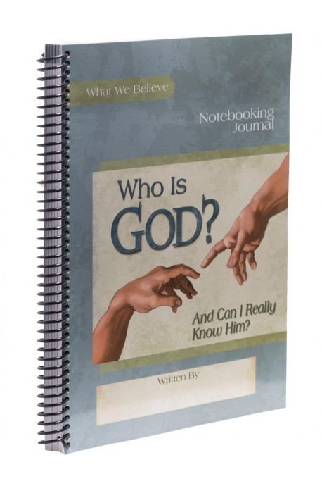 Who Is God? Notebooking Journal - Product Image