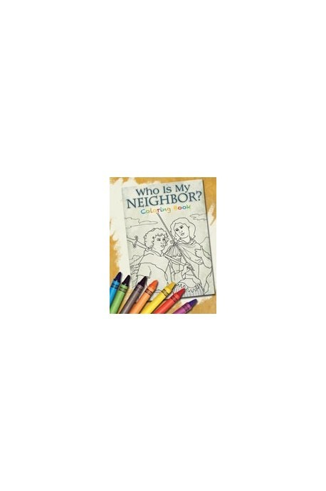 Who Is My Neighbor? Coloring Book - Product Image